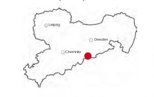 Karte Rehefeld-Zaunhaus