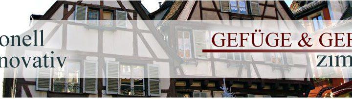 Zimmerei - Gefüge & Gefache Zimmerei GmbH